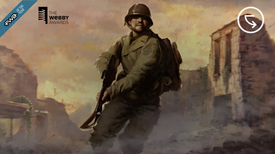 Medal of Honor: Above & Beyond Launch Website